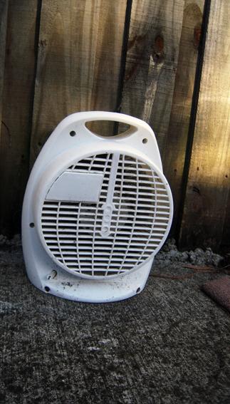 dead fan heater