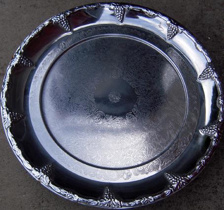 Dead silver platter