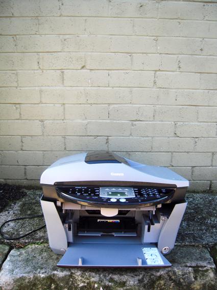 A dead printer