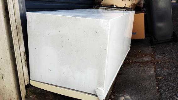 A dead fridge