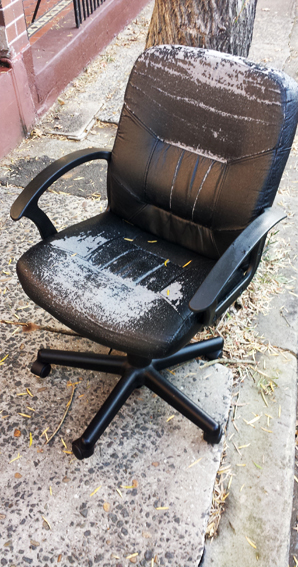 Another dead chair