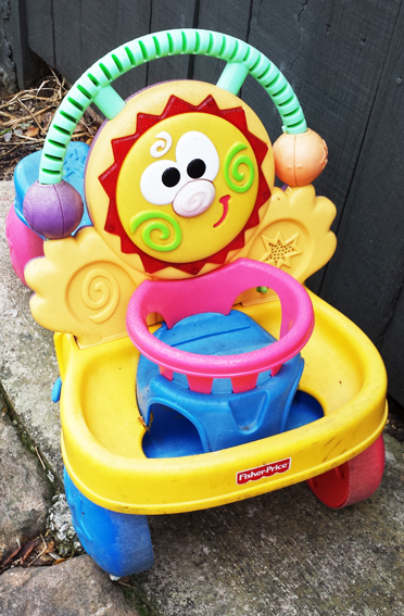 Another dead ride-on toy