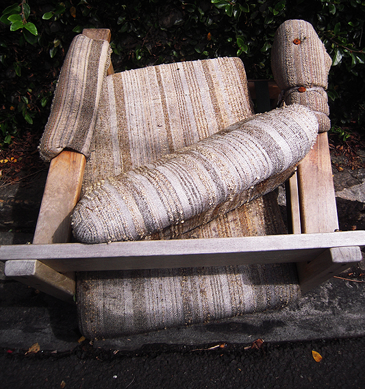 Another dead armchair