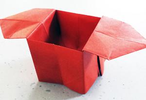 The origami sanbo