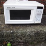 One dead microwave oven