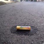 A dead battery