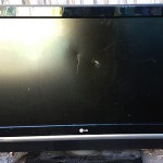Another dead flat screen