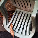 Another dead stacking chair