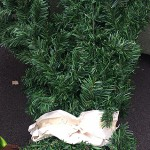 Another dead fake Xmas tree